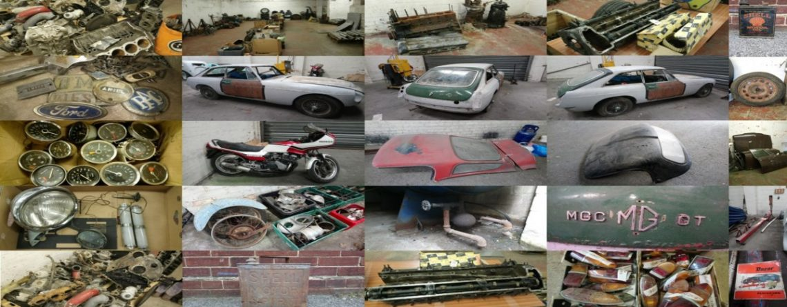Auction of Car Parts, Automobilia & Cars – Saturday 1st July at 10am