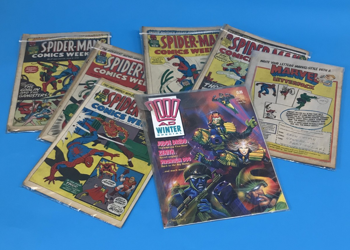 Header 2 2000 AD Winter Special (Volume) - Comic Auctions in Newcastle Upon Tyne